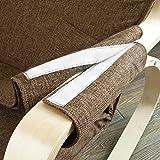 Stillstuhl SoBuy mit Tasche und verstellbarem Fußteil in beige - 9