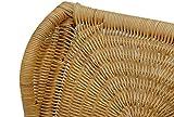 Stillstuhl LUXOR aus Rattan in der Farbe Honig mit Polsterauflage - 4